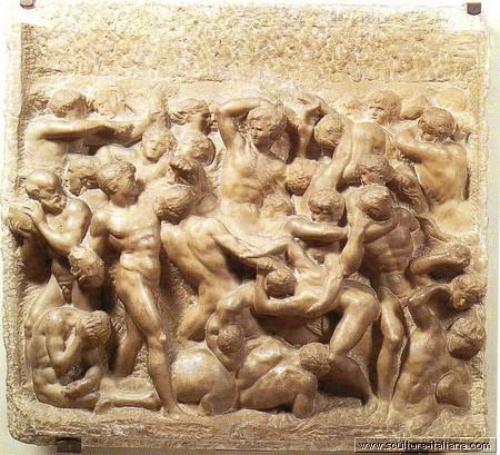 michelangelo-zuffa-dei-centauri-firenze-casa-buonaroti-1492ca