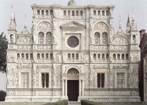 Vincenzo Castella, Certosa di Pavia, la facciata