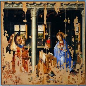 Antonello, Annunciazione, Siracusa, Palazzo Bellomo