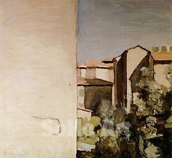 Morandi, Veduta di via Fondazza