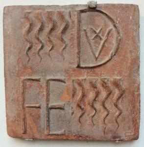 Le formelle di laterizio, vero dna del Palzzo di Federico