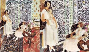 Matisse, Le paravent mauresque, 1921