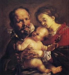 Serodine, Sacra famiglia
