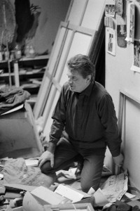 Mario Dondero, Francis Bacon nello studio, 1961